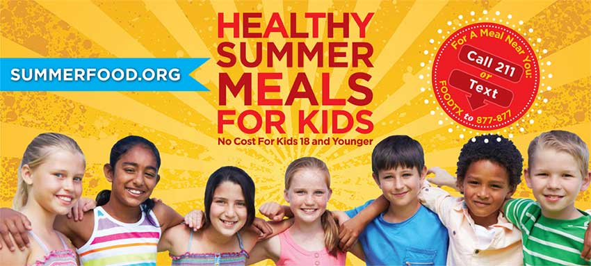 Free Summer Meals Offered At Many Schools In And Around Austin