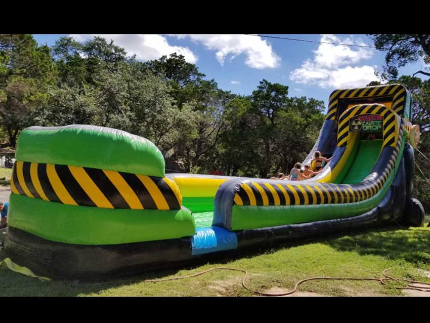 ArtBarnATX Water slide add-on