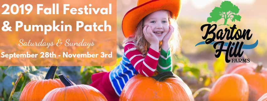 Barton Hill Farms Fall Festival And Pumpkin Patch 2019