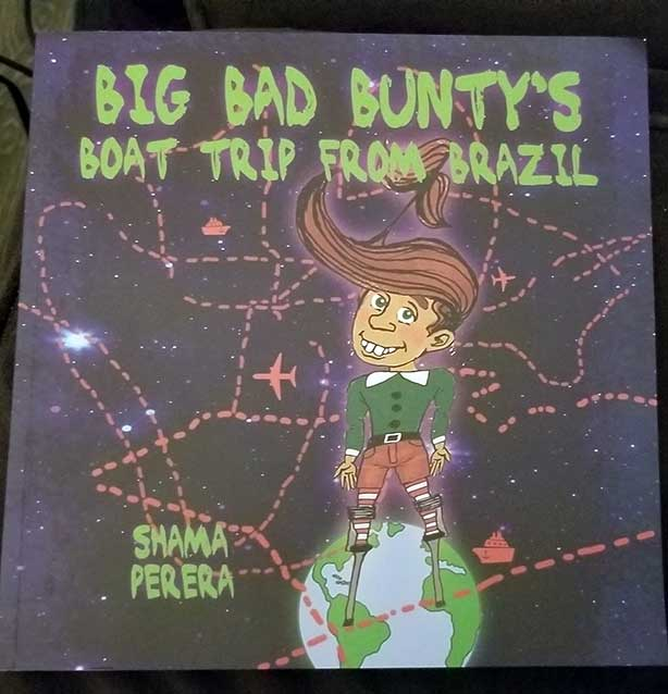Big Bad Bunty's Boat Trip From Brazil