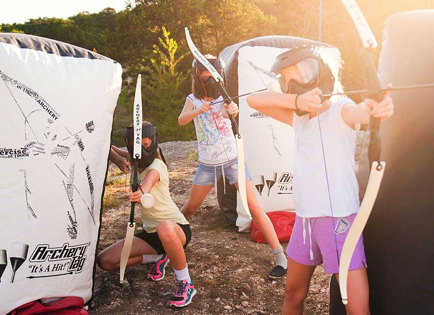 Fun Party Packs from Freedom Fun USA - Backyard Archery