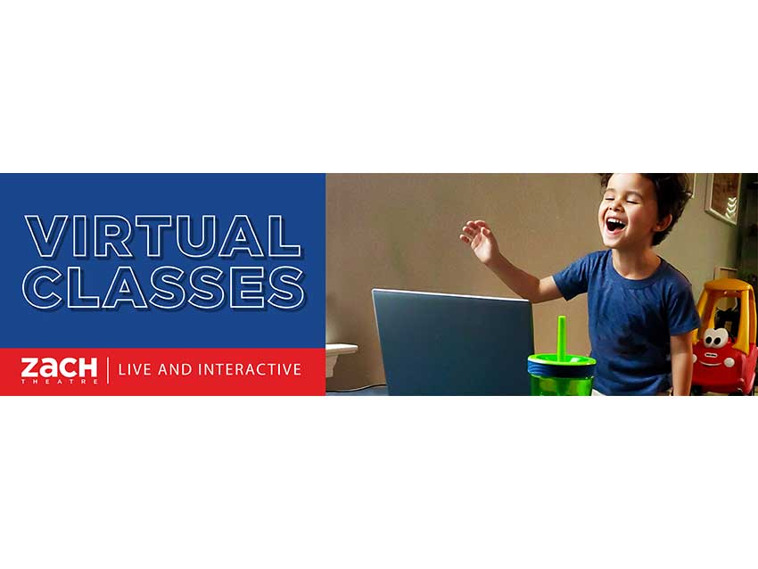 Zach Theatre virtual lessons